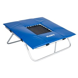 HART Gym Mini Trampoline with Safety Pad