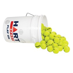 HART Bucket of Tennis Balls X-Outs