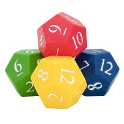 HART 12 Sided Die Set