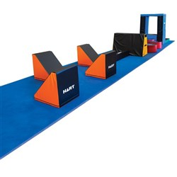 HART Mini Warrior Course with Tumbling Run