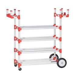 HART 4 Layer Storage Rack