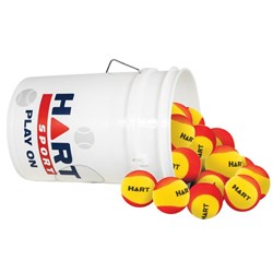 HART Bucket of Foam Trainer Balls