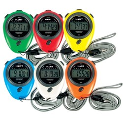 HART Colour Stopwatches Set