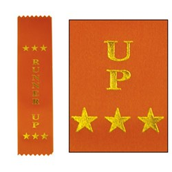 HART Star Place Ribbon  Runner Up - Pack of 50