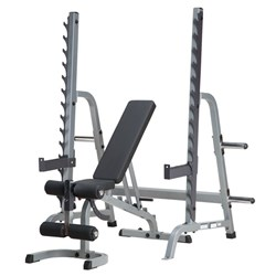 HART Multi-Press Rack Combo Incline/Decline Bench
