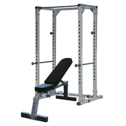 HART Power Rack Combo Flat/Incline Bench