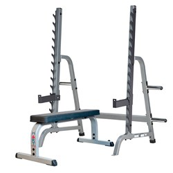 HART Multi-Press Rack Combo Flat Bench