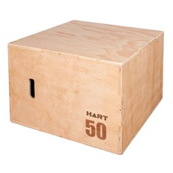HART 3 in 1 Wooden Plyo Box