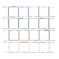 HART Four Colour Agility Ladder Set - 4 x 2m