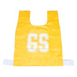 HART Cotton Netball Bibs - Snr Gold
