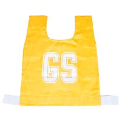 HART Cotton Netball Bibs - Jnr Gold