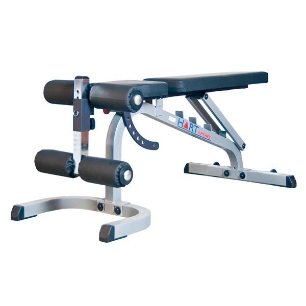 Hart Flat Incline Decline Bench Benches Racks Stands
